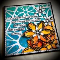 PaperArtsy Mounted Rubber Stamp Set - Tracy Scott 58 - TS058